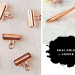 Copper & Rose Gold