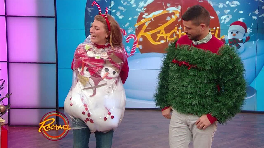 Ugly Christmas Sweater Showdown