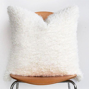 Nordic Shag Polar Pillow